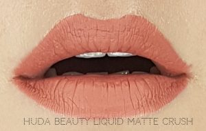 Jak się malować by Marta Malek Nude Love Collection Huda Beauty Liquid Matte Crush