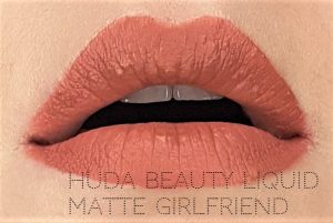 Jak się malować by Marta Malek Nude Love Collection Huda Beauty Liquid Matte Girlfriend