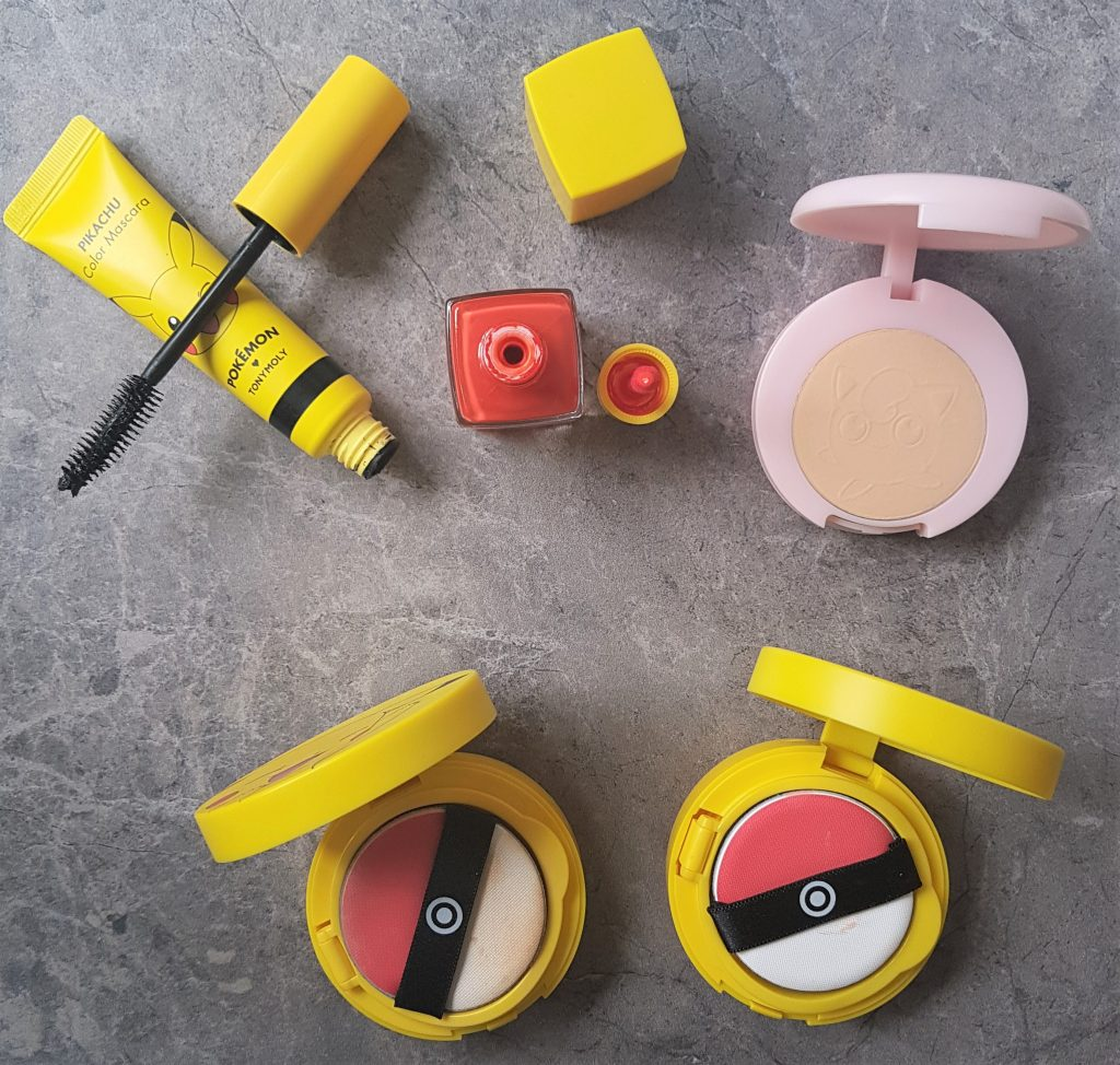 tony moly x pokemon jak si malowac by marta malek cushion foundation blush box
