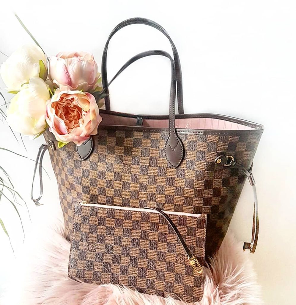 Louis Vuitton Neverfull Damier Ebène MM bag