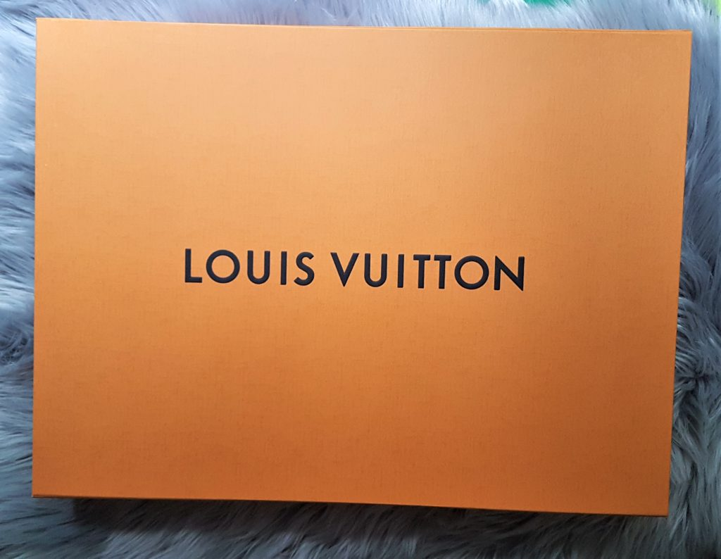 Torebka Louis Vuitton the box pudełko