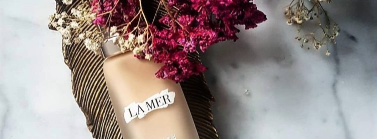 La Mer The Soft Fluid Long Wear foundation flowers gipsówka podkład baby's breath