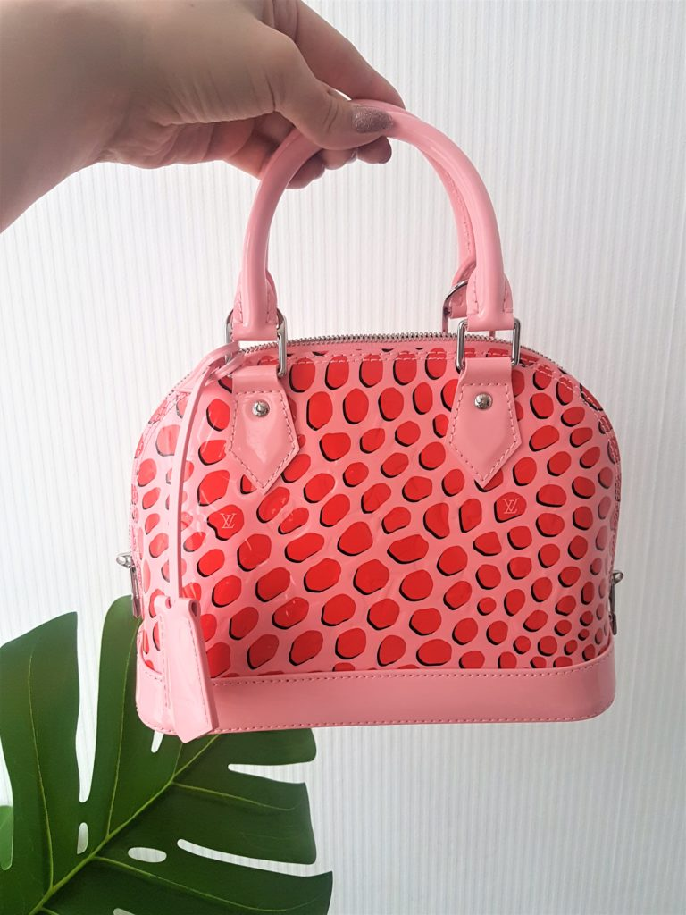 Torebka Louis Vuitton Alma BB Jungle Dots Poppy bag on jak się malować by marta malek blog